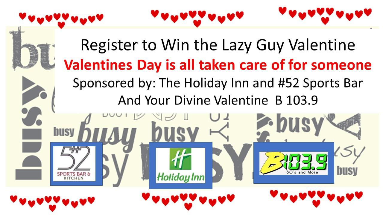 Lazy Guy Valentine